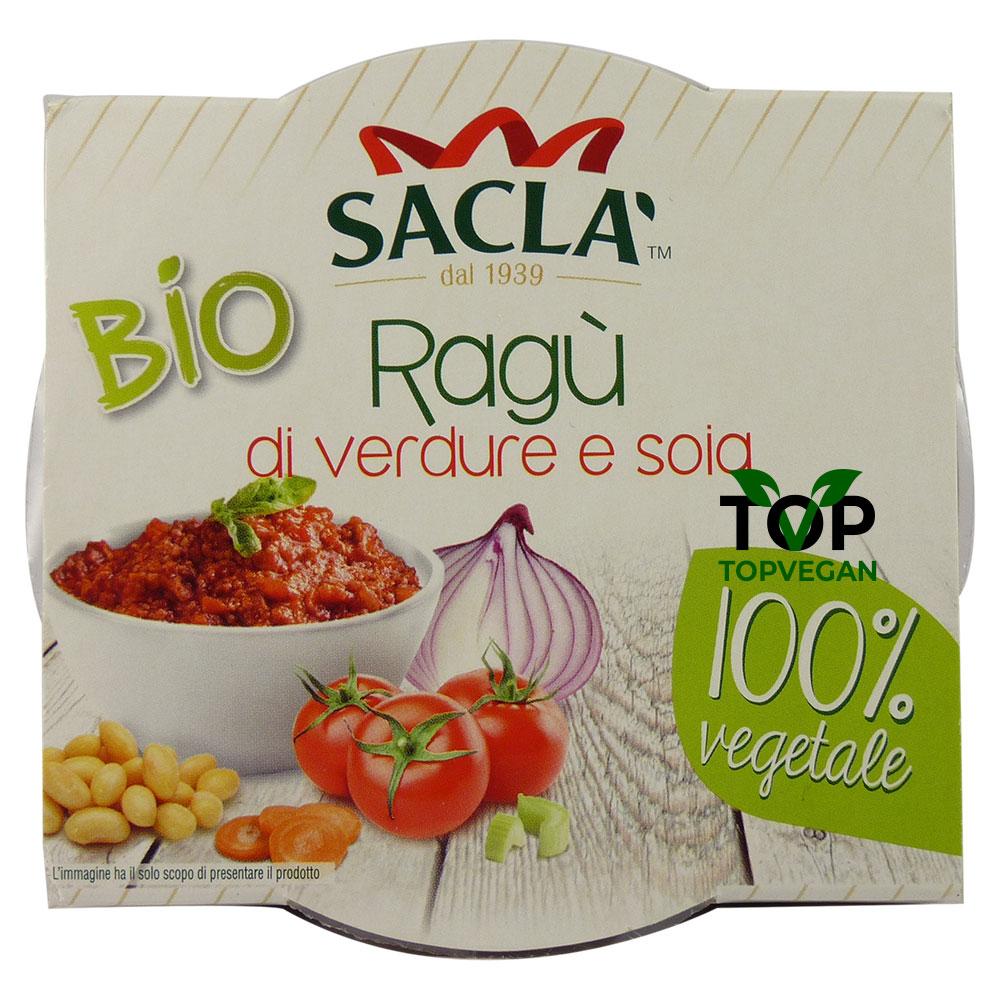Ragù di verdura e soia di Saclà