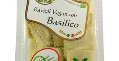 ravioli vegan basilico pastai bio