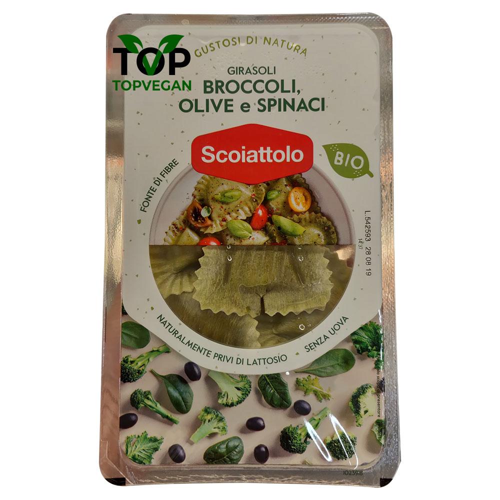 girasolo vegani ripieni di olive e spinaci da sociattolo