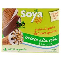 soyalife gelato vegano assortito