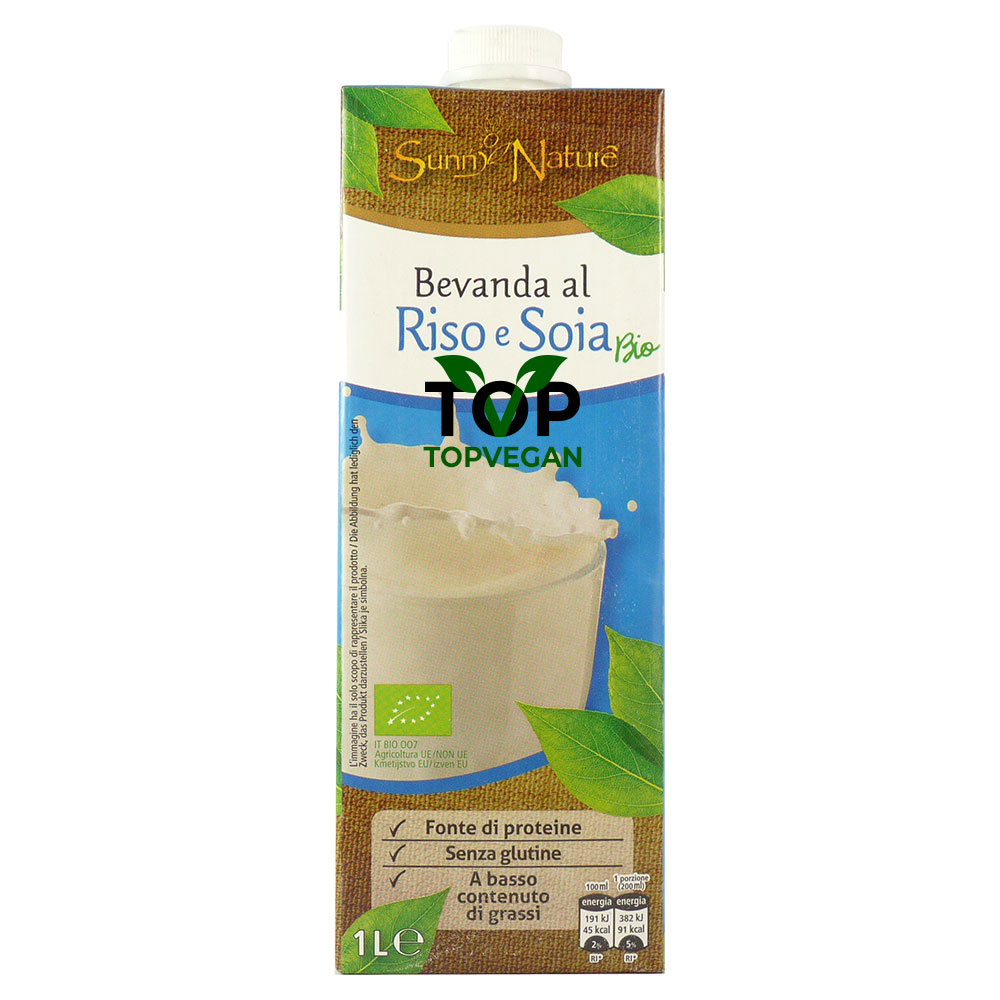 latte di riso soia sunny nature