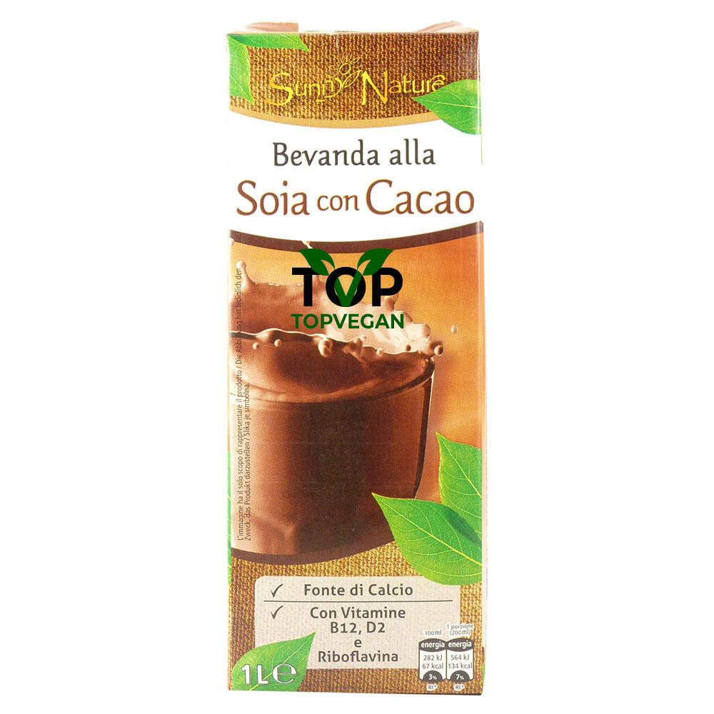 sunny nature latte di soia cacao