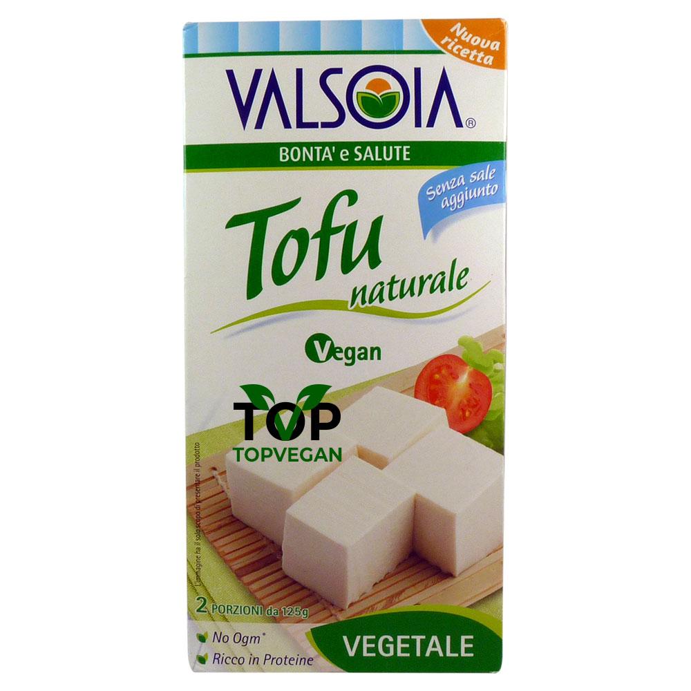 Tofu naturale di Valsoia