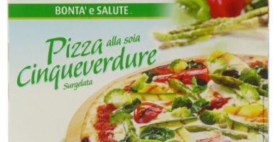 pizza vegana alle verdure cinqueverdure valsoia