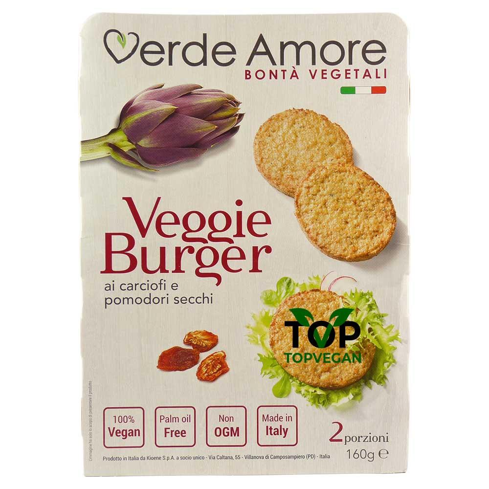 burger carciofi pomodori verde amore