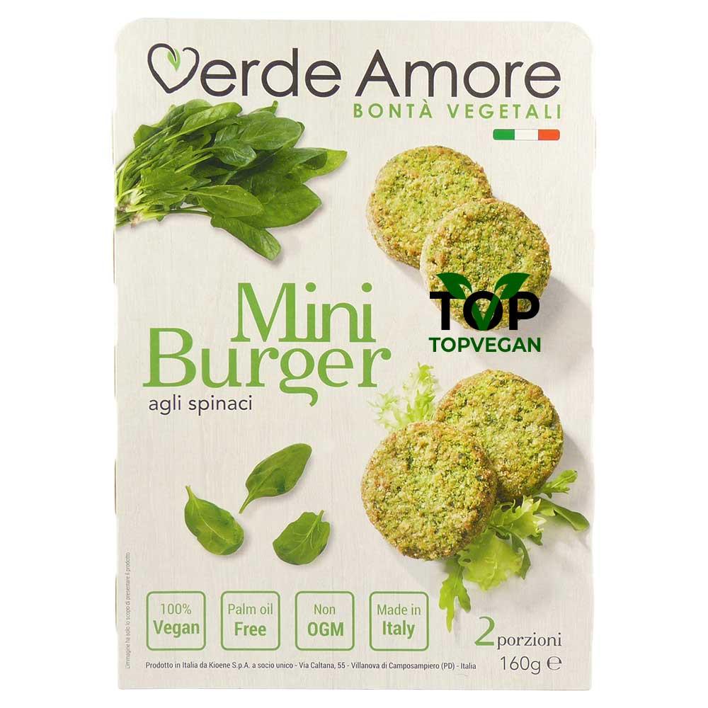 burger di spinaci verde amore