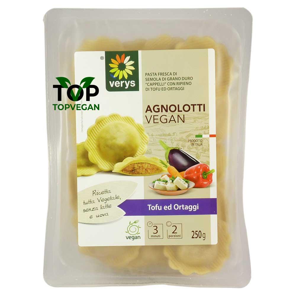 Agnletti Vegani con Tofu e Ortaggi - Verys