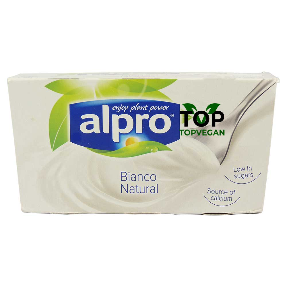 yogurtu di soia bianco natural alpro