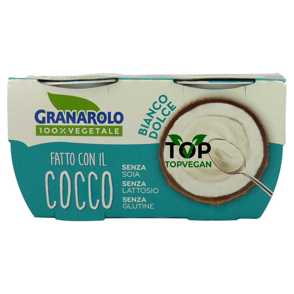 Yogurt di cocco bianco dolce di Granarolo