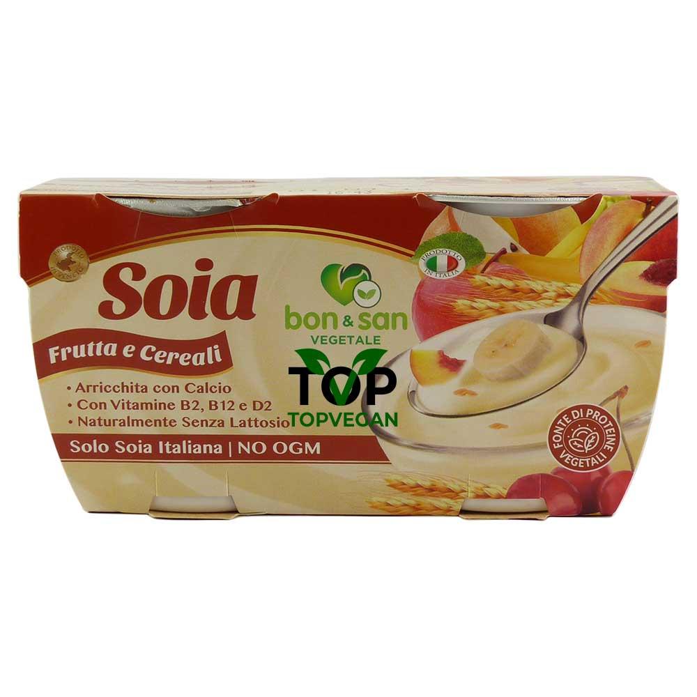 yogurt vegano bon san