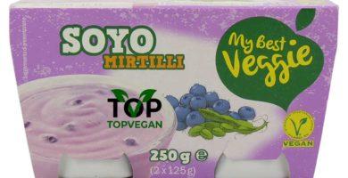 yogurt di soia e mirtillo