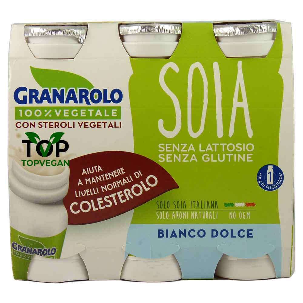 yogurt soia steroli vegetali granarolo