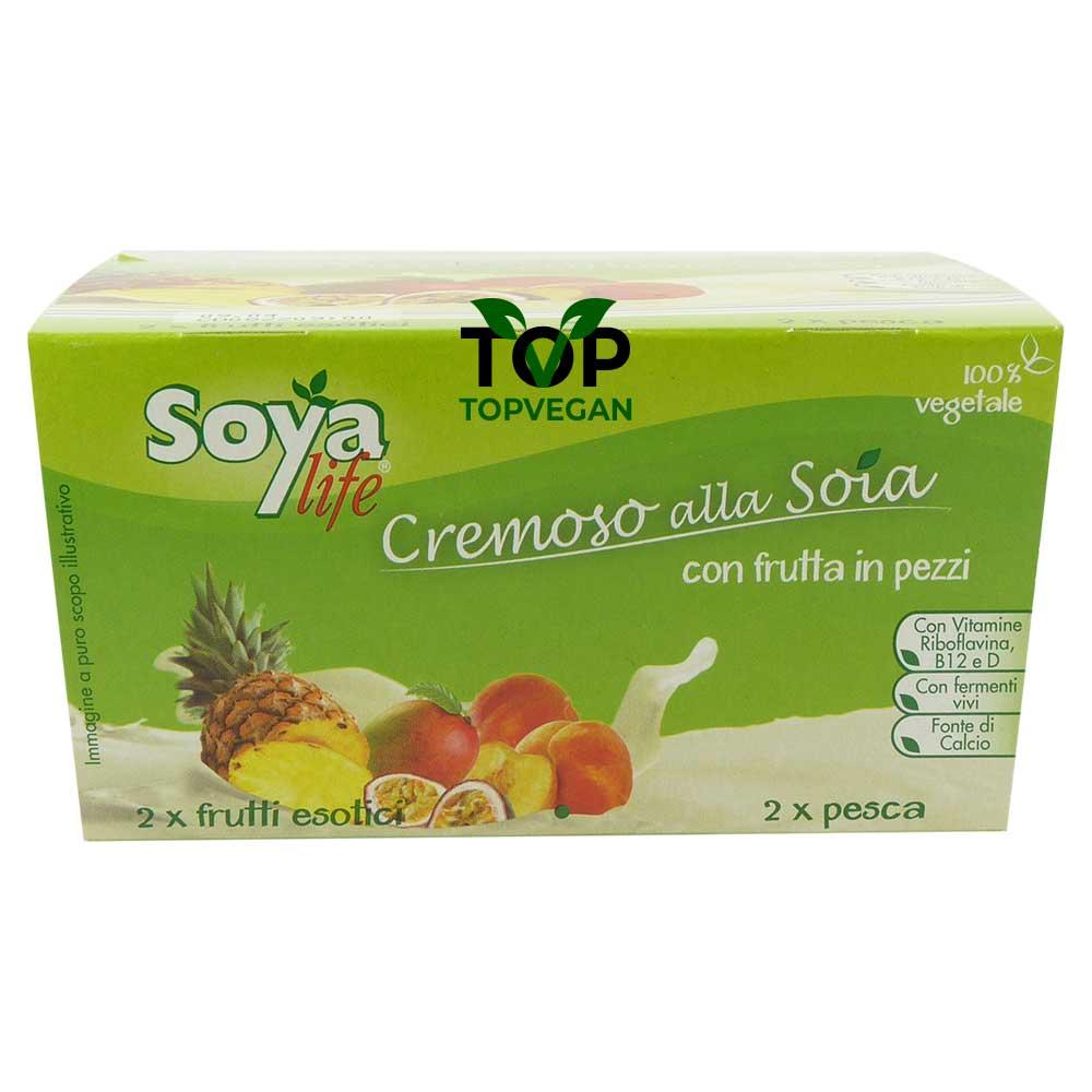Yogurt vegano soyalife pesca fruti esotici