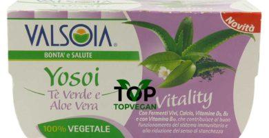 yogurt di soia yosoi the verde aloe vera valsoia