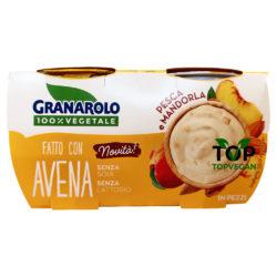 yogurt vegetale avena pesca mandorla granarolo