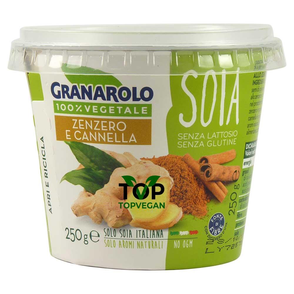 yogurt di soia zenzero canella granarolo